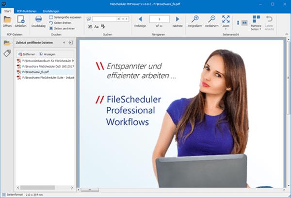 Free / Freeware PDF Viewer, mit dem Sie PDFs anzeigen und auch bearbeiten können.